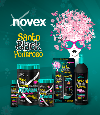 Banner Santo Black Poderoso
