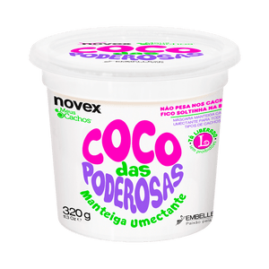 Manteiga-para-Cabelo-Novex-Meus-Cachos-Coco-das-Poderosas-320g
