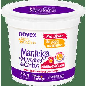 Manteiga-para-Cabelo-Novex-Meus-Cachos-Ativadora-de-Cachos-Se-Joga-no-Brilho-320g