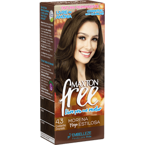 Tinta-de-Cabelo-para-pintar-cabelos-Maxton-Free-Morena-Mega-Estilosa-Kit-Economica