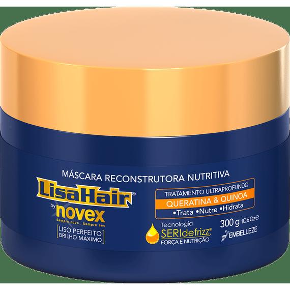 Mascara-de-hidratacao-para-hidratar-cabelos-alisados-LisaHair-300g