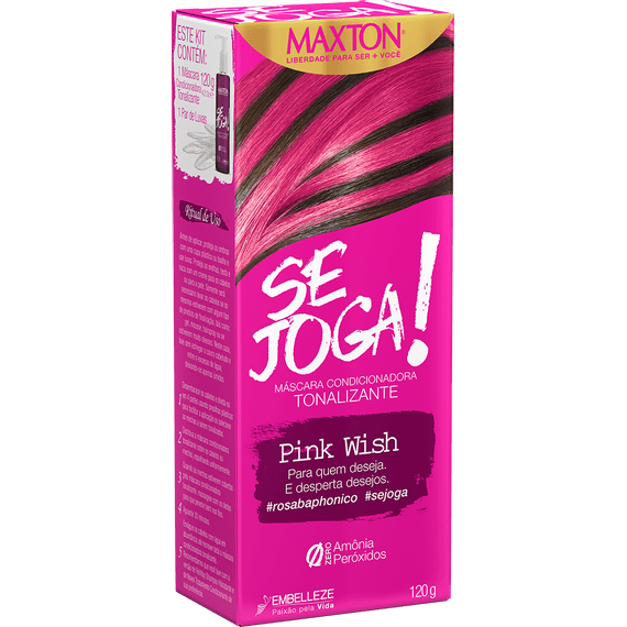 Tinta-de-Cabelo-para-pintar-cabelos-Se-Joga-Pink-Wish