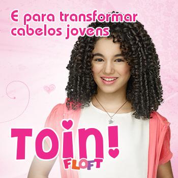 Banner Toin Floft em Novex Meus Cachinhos