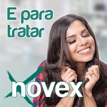 Banner Novex em Pelúcia