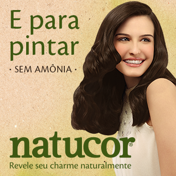 Banner Natucor em Pelúcia