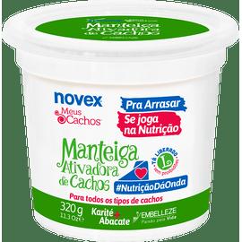 Manteiga-para-Cabelo-Novex-Meus-Cachos-Ativadora-de-Cachos-Se-Joga-na-Nutricao-320g