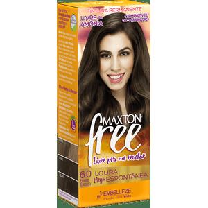 Tinta-de-Cabelo-para-pintar-cabelos-Maxton-Free-Loura-Mega-Espontanea-Kit-Economico