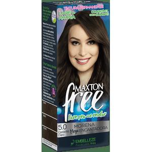 Tinta-de-Cabelo-para-pintar-cabelos-Maxton-Free-Morena-Mega-Encantadora-Kit-Economico