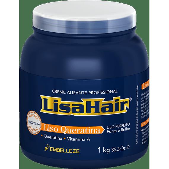 Creme-Alisante-para-alisar-cabelo-LisaHair-1kg