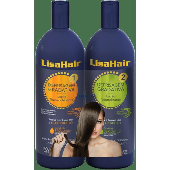 Defrisagem-Gradativa-para-alisar-cabelos-LisaHair-Kit