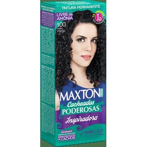 Tinta-de-Cabelo-para-cabelo-cacheado-Maxton-Free-Cacheadas-Poderosas-Inspiradora-Preto-Intenso-1.00-Kit-Economico
