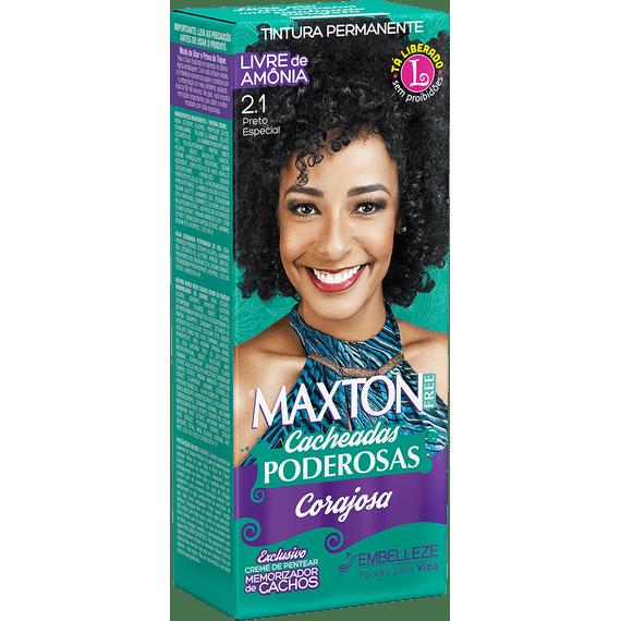 Tinta-de-Cabelo-para-cabelo-cacheado-Maxton-Free-Cacheadas-Poderosas-Corajosa-Preto-Especial-2.1-Kit-Economico