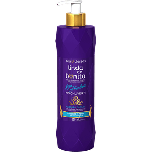 Defrisagem-Gradativa-para-alisar-cabelo-Linda-de-Bonita-Liso-Absoluto-no-Chuveiro-500ML