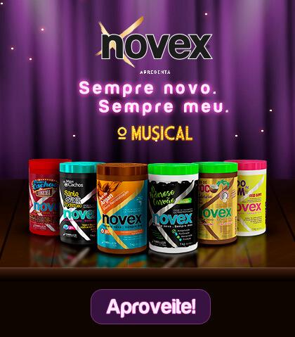 Banner Novex O Musical