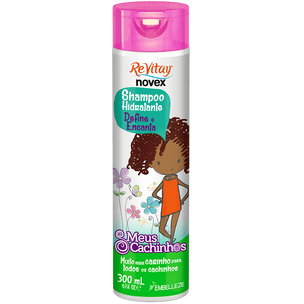 Shampoo-para-cabelo-cacheado-infantil-Vitay-Novex-Meus-Cachinhos-300ML