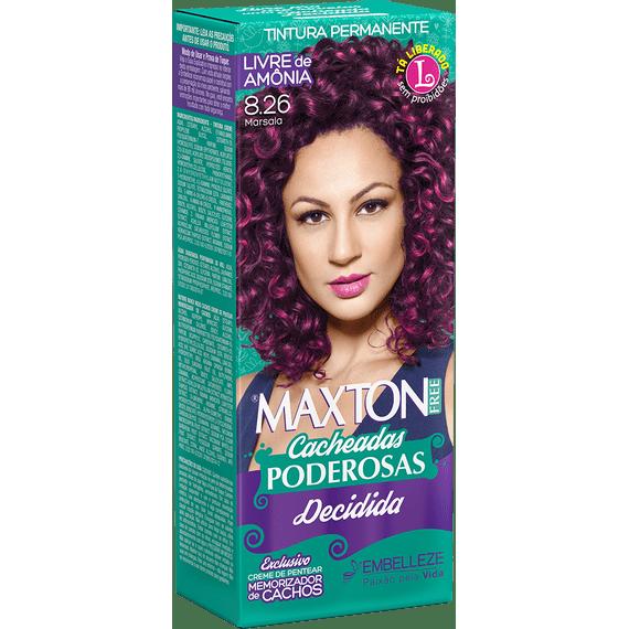 Tinta-de-Cabelo-Maxton-Free-Cacheadas-Poderosas-Decidida-Marsala-8.26-Kit-Economico