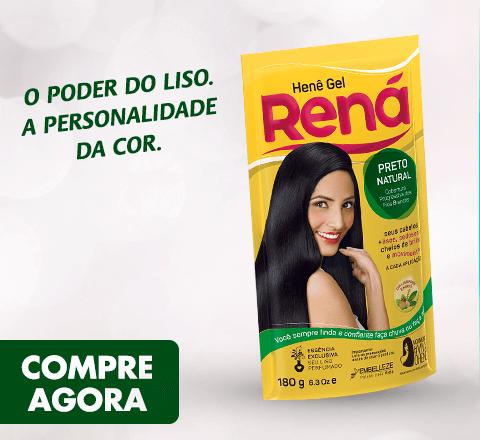 Banner Rená Preto Natural