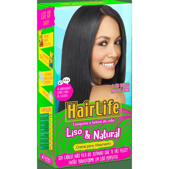 Creme-Alisante-HairLife-Liso---Natural-Kit