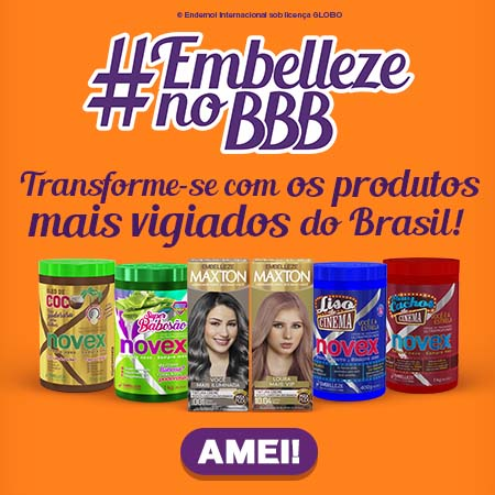 Fullbanner Embelleze no BBB Mobile