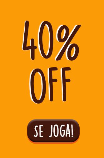 Banner 40% OFF