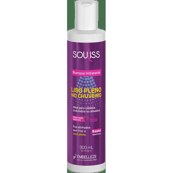 Shampoo-SouLiss-Liso-Pleno-no-Chuveiro-Hidratante-300ML