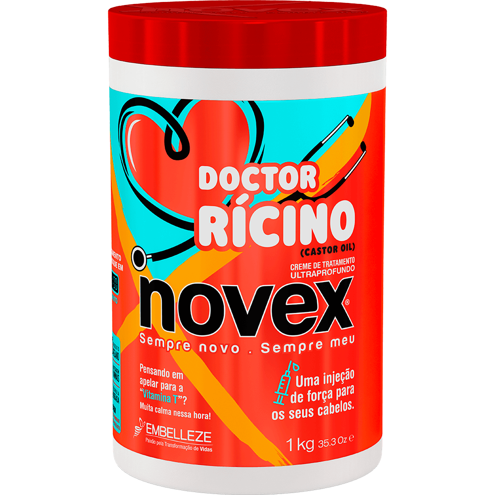 Novex Doctor Rícino Treatment Cream