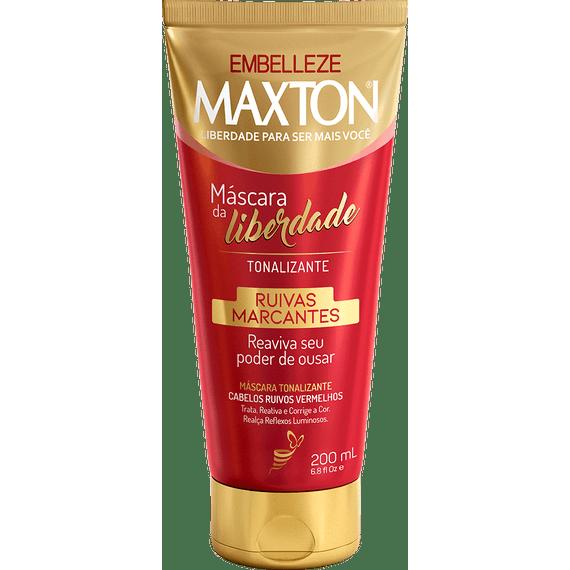 Mascara-Tonalizante-Mascara-da-Liberdade-Maxton-Ruivas-Marcantes--200ML