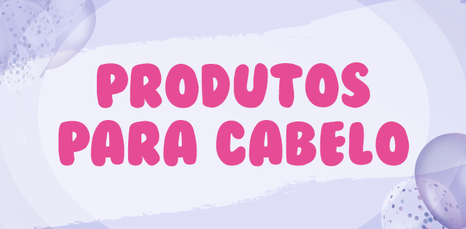 Banner Produtos para Cabelos