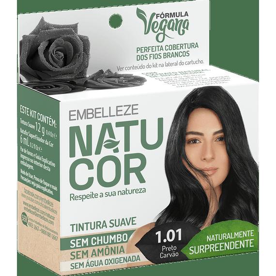Tinta-de-Cabelo-Natucor-Naturalmente-Surpreendente-Preto-Carvao-1.01-KIT-ECONOMICO