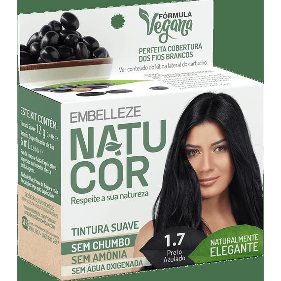 Tinta-de-Cabelo-Natucor-Naturalmente-Elegante-Preto-Azulado-1.7-KIT-ECONOM