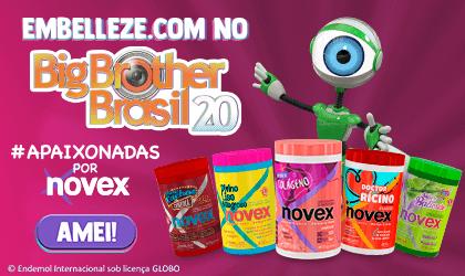 Fullbanner Novex no BBB20