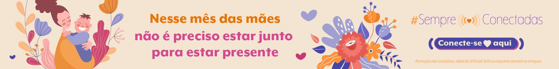 Banner Mês das Mães