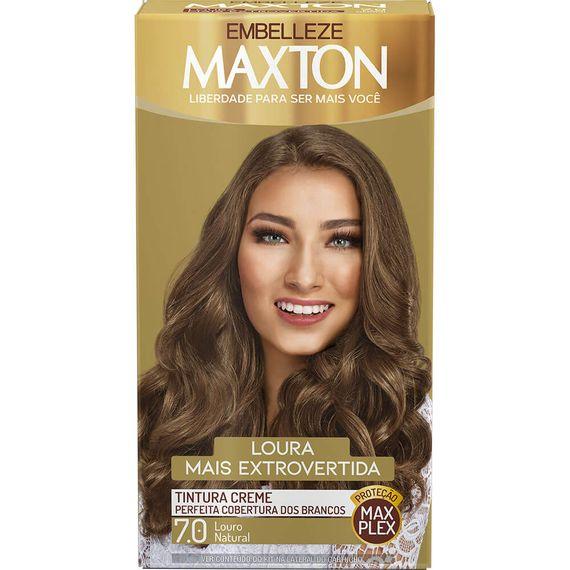 Tintura-para-pintar-cabelos-Maxton-Loura-Mais-Irreverente-7.0-Kit-Completo