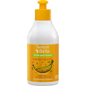 Creme-para-Pentear-SempreBella-Banana-Fabulosa-300ML