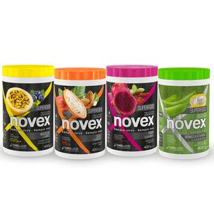 Kit-Cremes-de-Tratamento-Novex-Superfood-Cronograma-Capilar