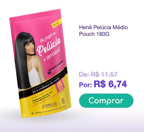 Banner Pelúcia Pouch Médio