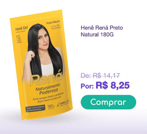 Banner Henê Rená Preto Natural